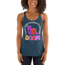 Load image into Gallery viewer, Teach Doom | Woman Tank Top Aighard Merchandise Webshop Child children Birthday Indigo