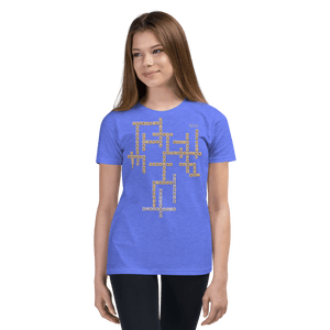 Youth T-shirt Aighard Heather Columbia Blue S 10 9825589_10620 Youth T-shirt