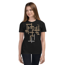 Load image into Gallery viewer, Youth T-shirt Aighard Black S 1 9825589_9430 Youth T-shirt