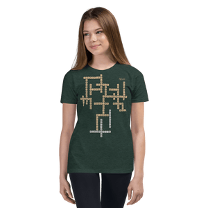 Youth T-shirt Aighard Heather Forest S 8 9825589_9595 Youth T-shirt