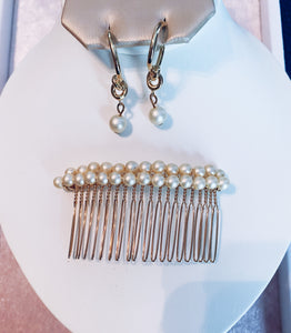 Ivory Pearl Comb