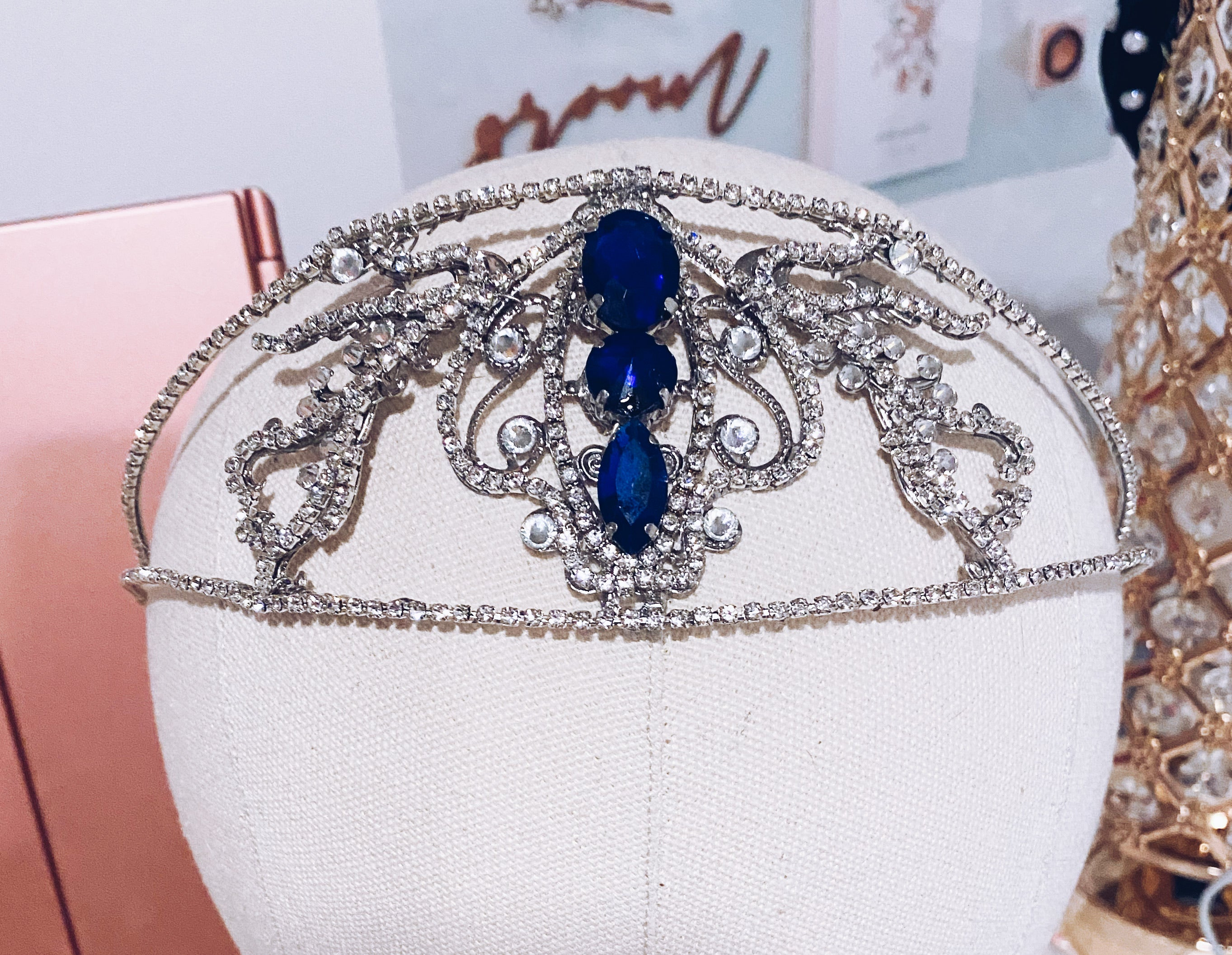 Something Blue Tiara