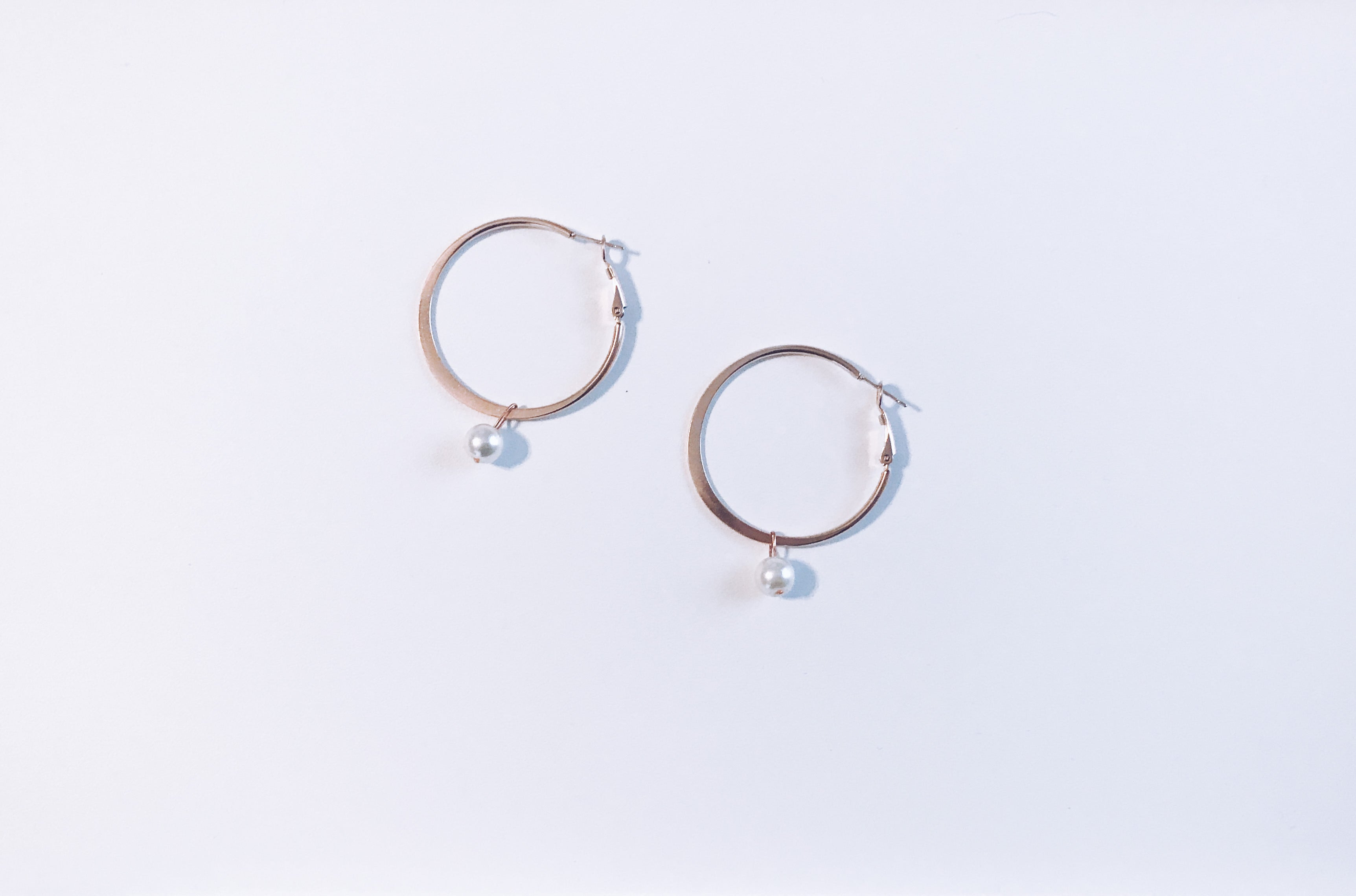 Eternal Earrings in Rose Gold