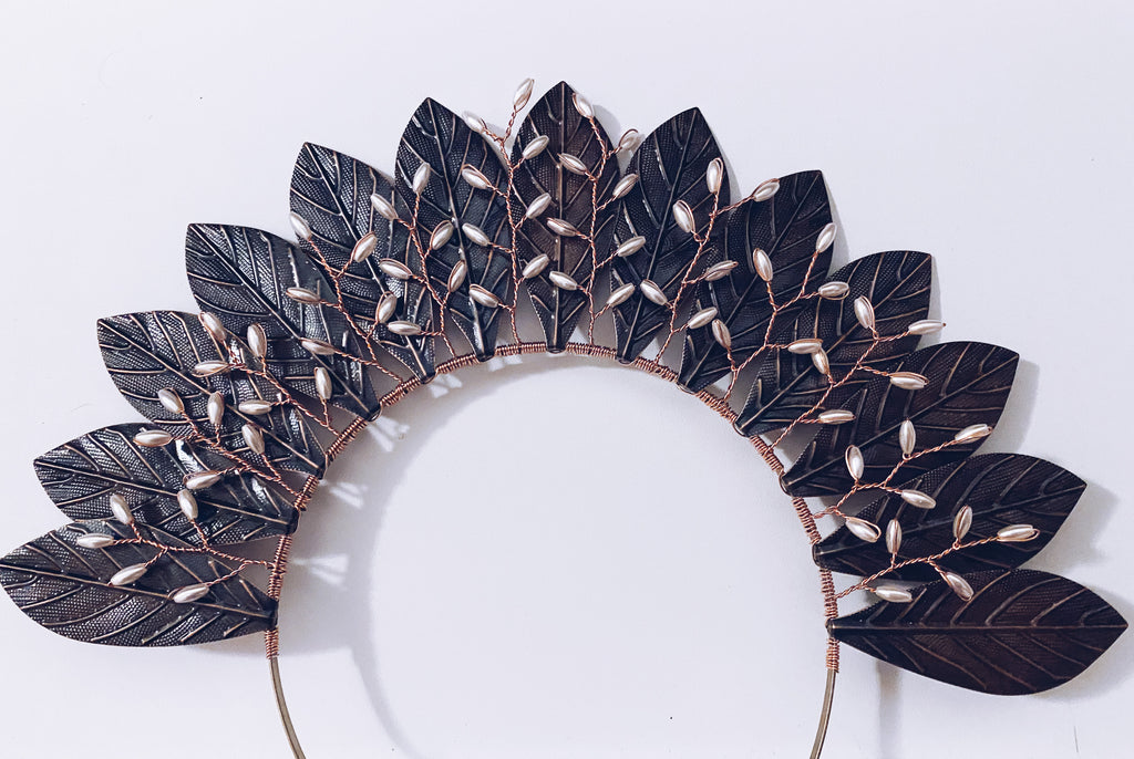 Bronze Leaf Crown