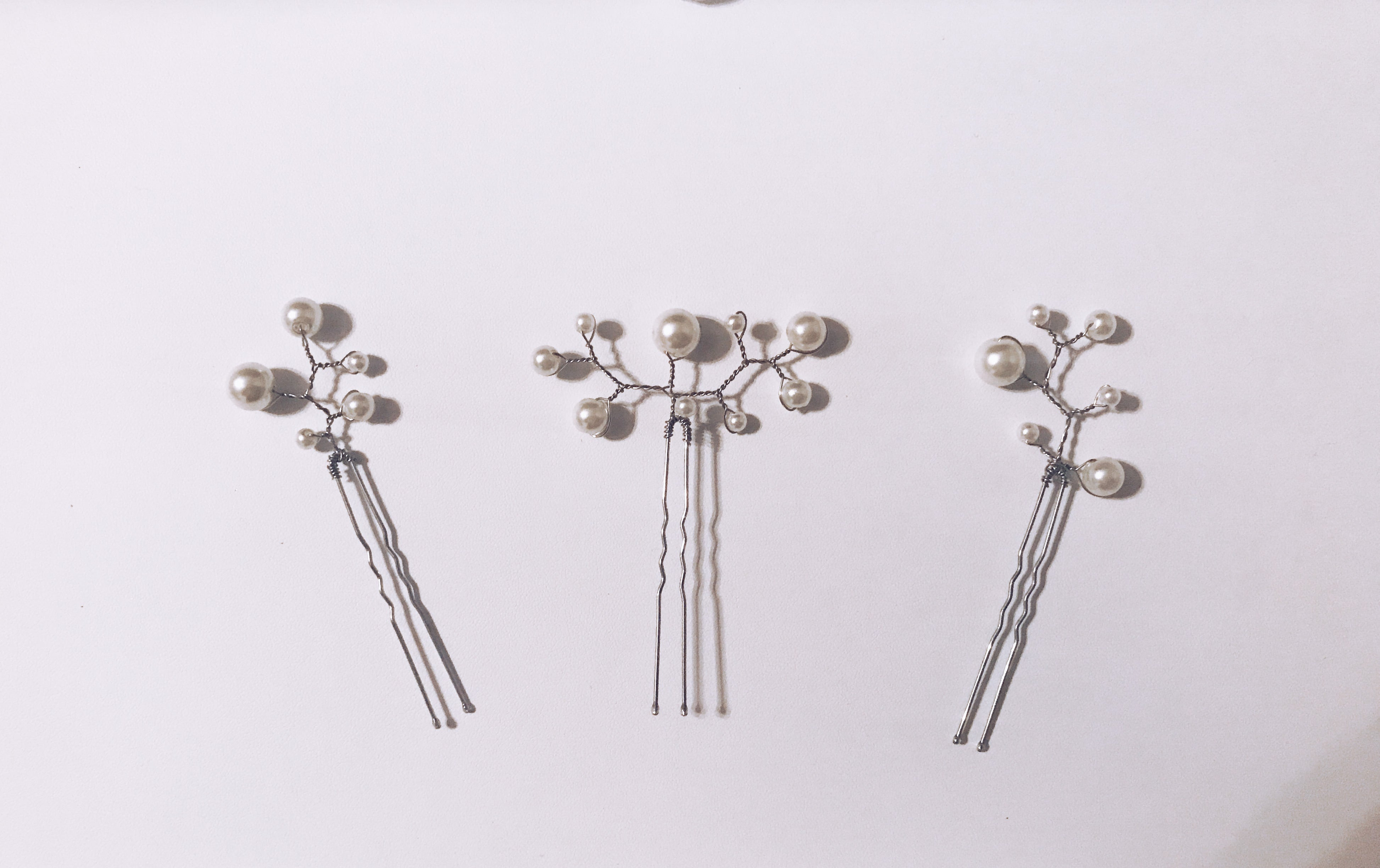 3 Custom Hair Pins