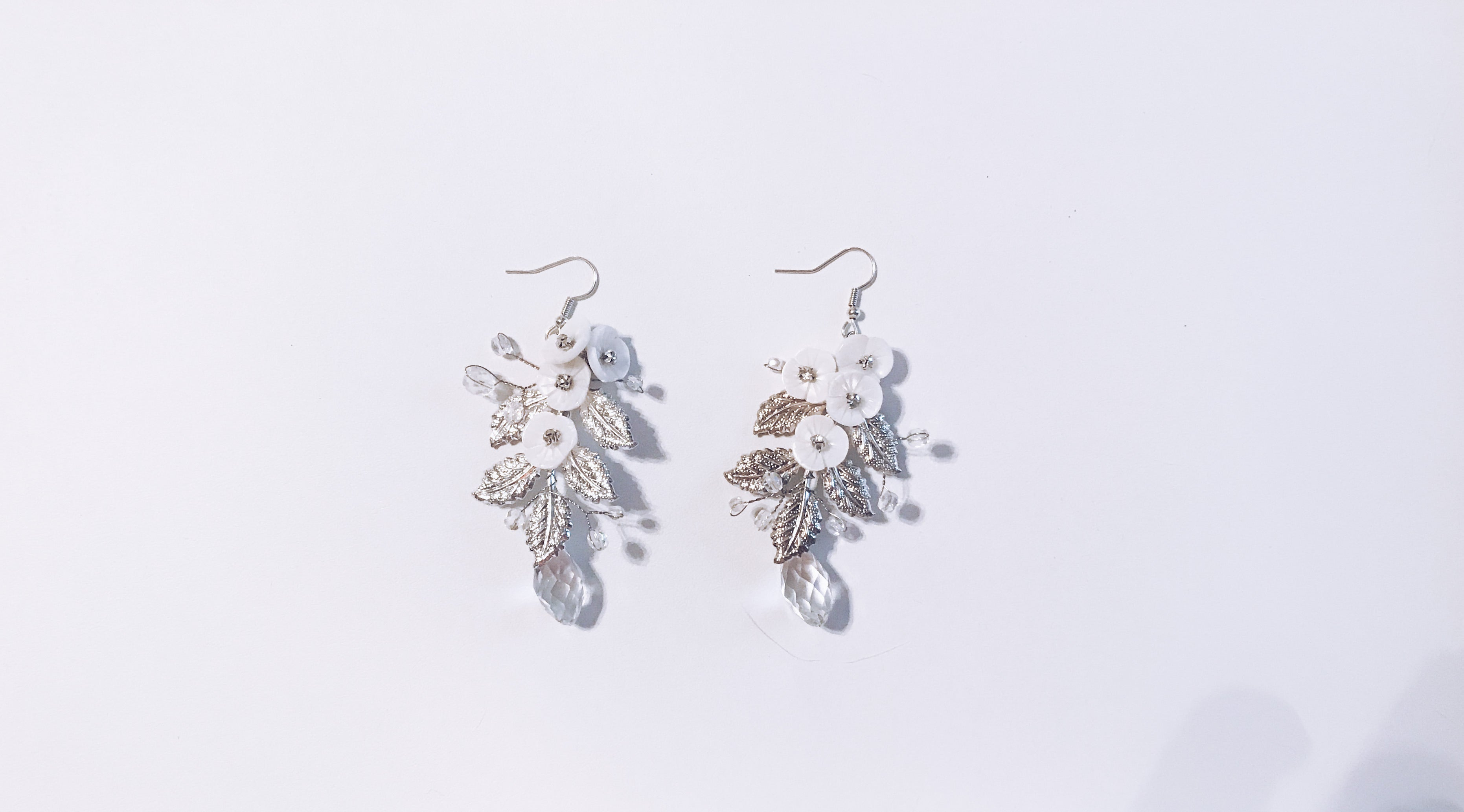 Elena Leaf Earrings