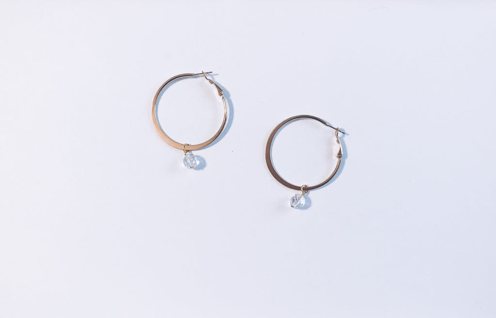 Eternal Earrings in Gold