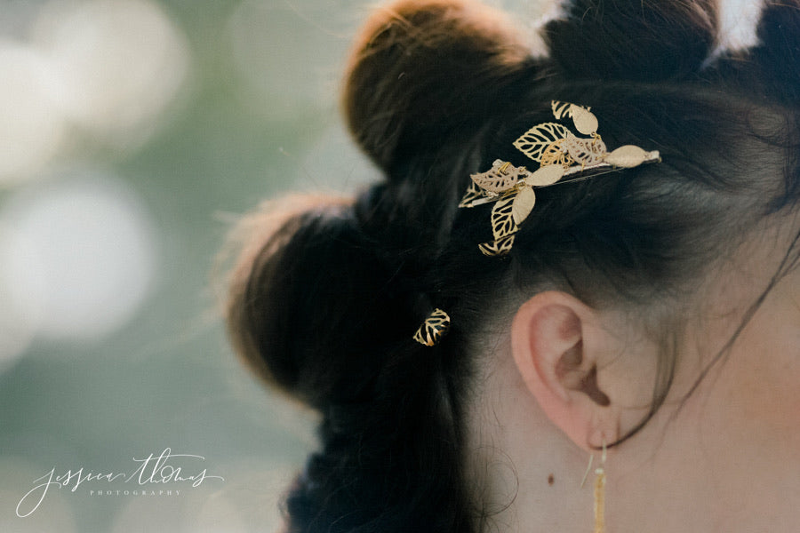 Gold Leaf Clips
