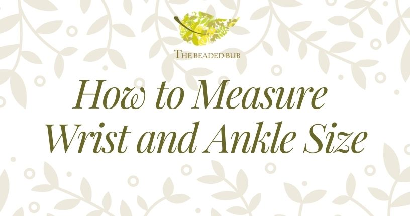 How to Measure Wrist and Ankle Size