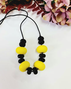 Beautiful Mixed Silicone Bead Necklace