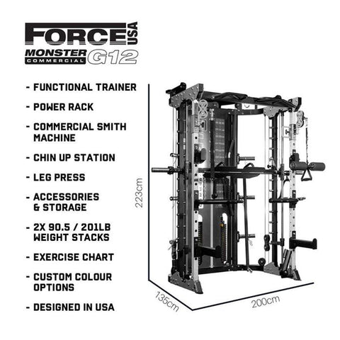 Image of Force USA Monster G12 - HomeGymSupply.co.uk