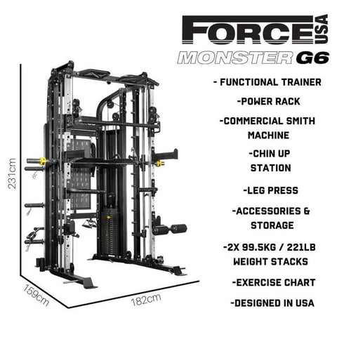 Force USA Monster G6 - HomeGymSupply.co.uk