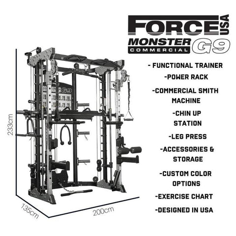 Force USA Monster G9 - HomeGymSupply.co.uk