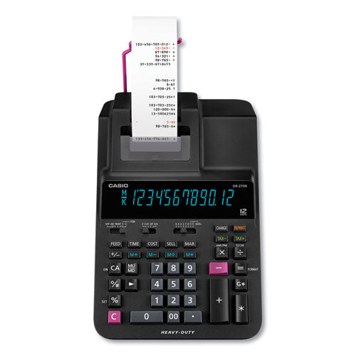 Casio® DR-270R Printing Calculator