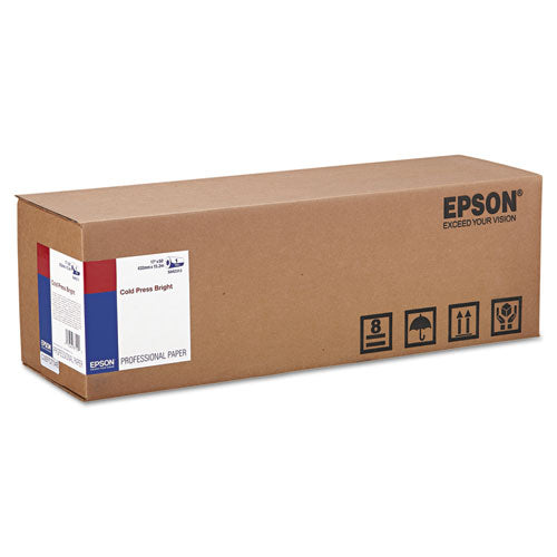 Epson® Cold Press Bright Fine Art Paper Roll
