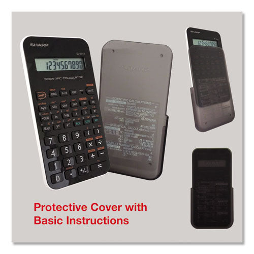 Sharp® EL-501XBWH Scientific Calculator