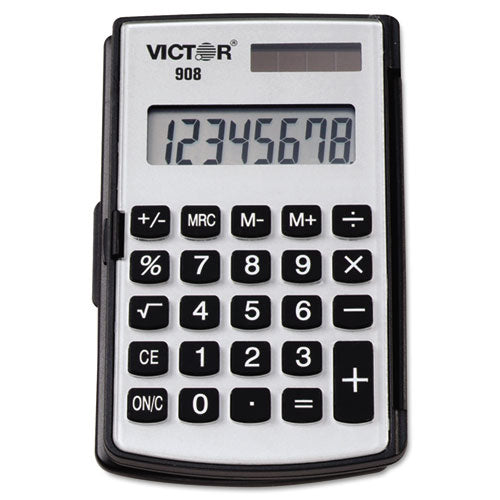 Victor® 908 Portable Pocket-Handheld Calculator