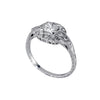Tom Mathis Designs Princess Cut Diamond Engagement Ring