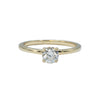 14K Diamond Solitaire Engagement Ring
