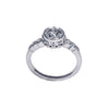 Tom Mathis Designs 1.11CT Diamond Engagement Ring