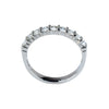 14K White Gold .55 Ct Diamond Stackable Band