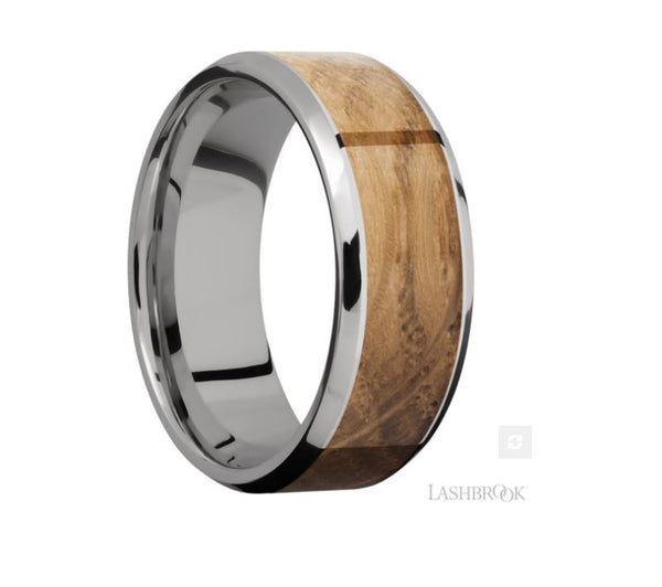 Lashbrook Designs Titanium Wedding Band