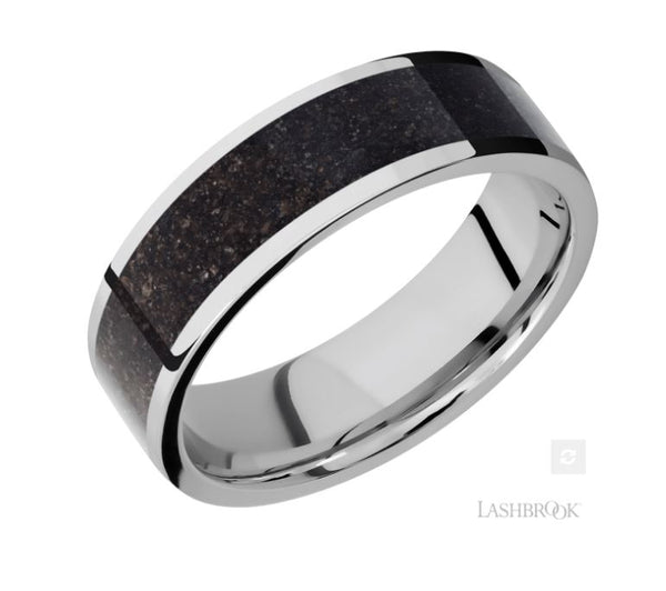 Lashbrook Designs Cobalt Chrome Wedding Band