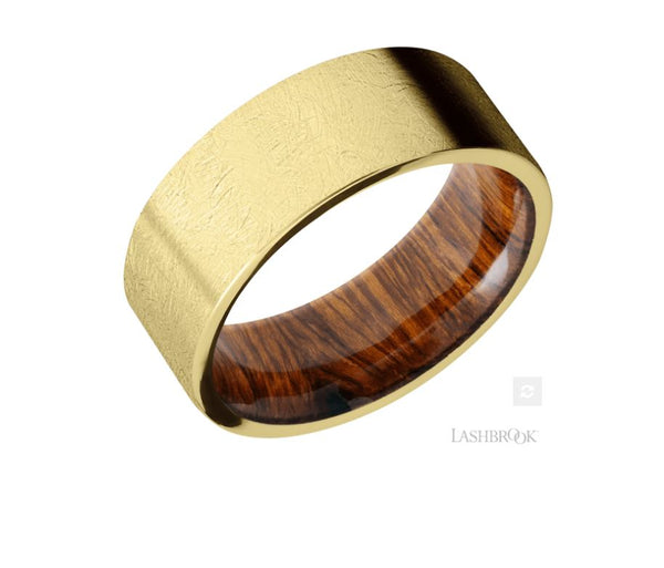 Lashbrook Designs 14K Yellow Gold Wedding Band