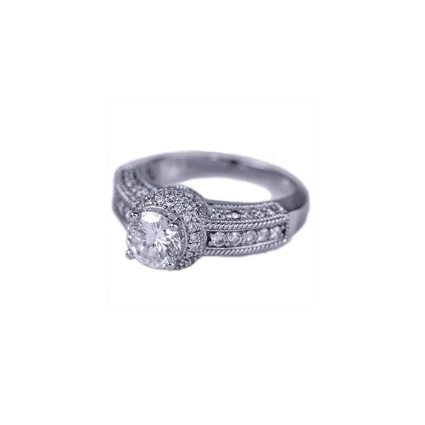 Estate Collection 1.01CT Diamond Ring