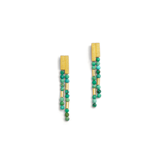 Bernd Wolf Collection Turquoise Earrings