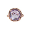 Riverbend Collection Rose Gold Pink Amethyst Ring