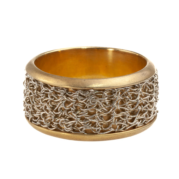 Mysterium Collection Vermeil Crochet Band