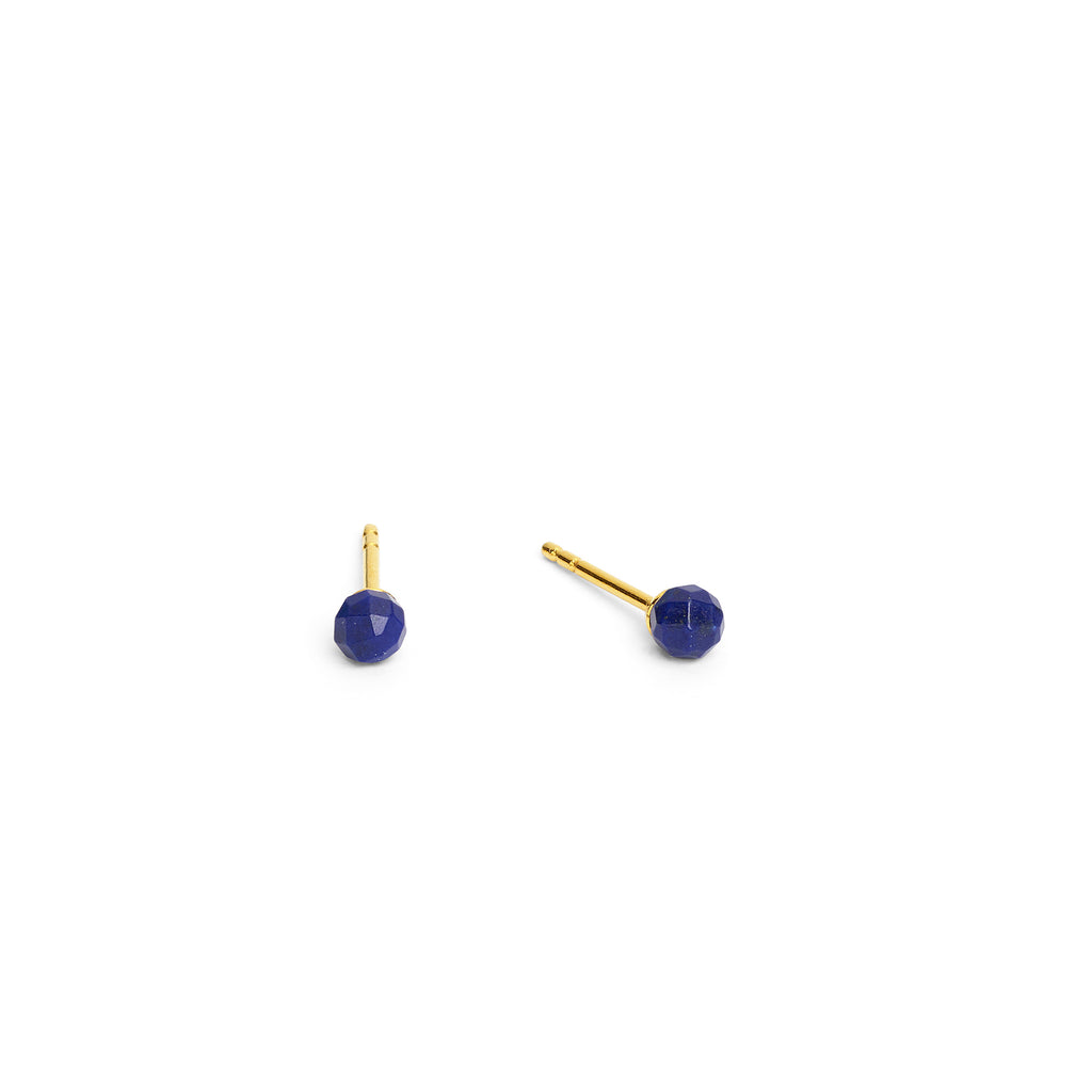 "Bernd Wolf Collection ""Facelli"" Lapis Stud Earrings"