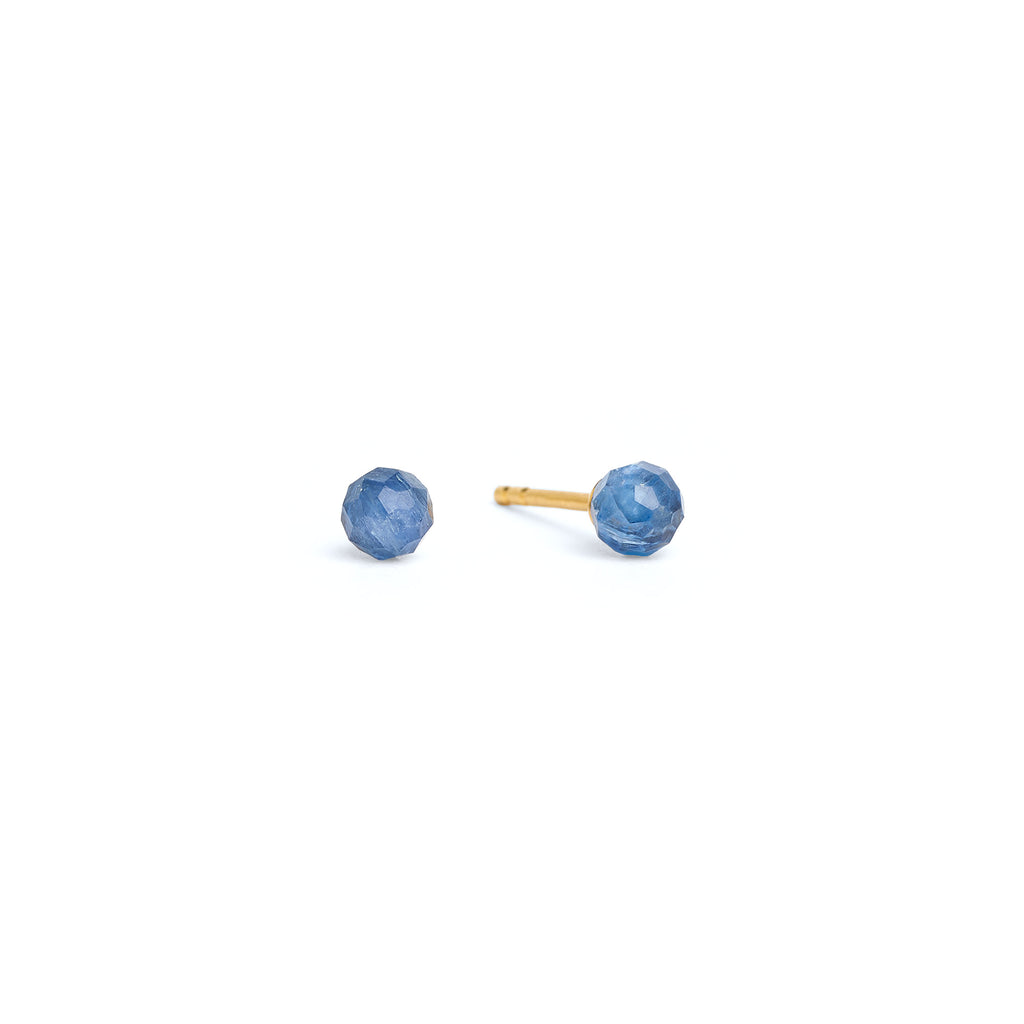 "Bernd Wolf Collection ""Kugel"" Kyanite Stud Earrings"