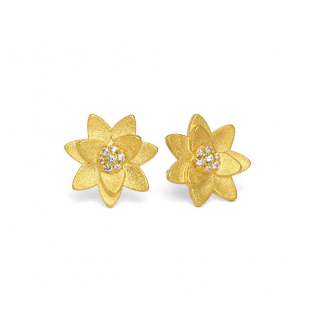 "Bernd Wolf Collection ""Hortensia"" Stud Earrings"