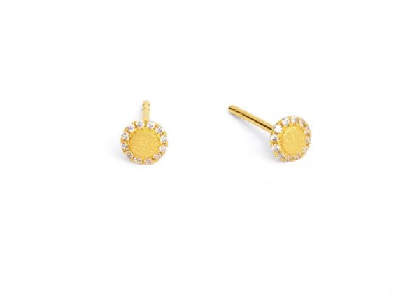 "Bernd Wolf Collection ""Suntini"" CZ Earrings"