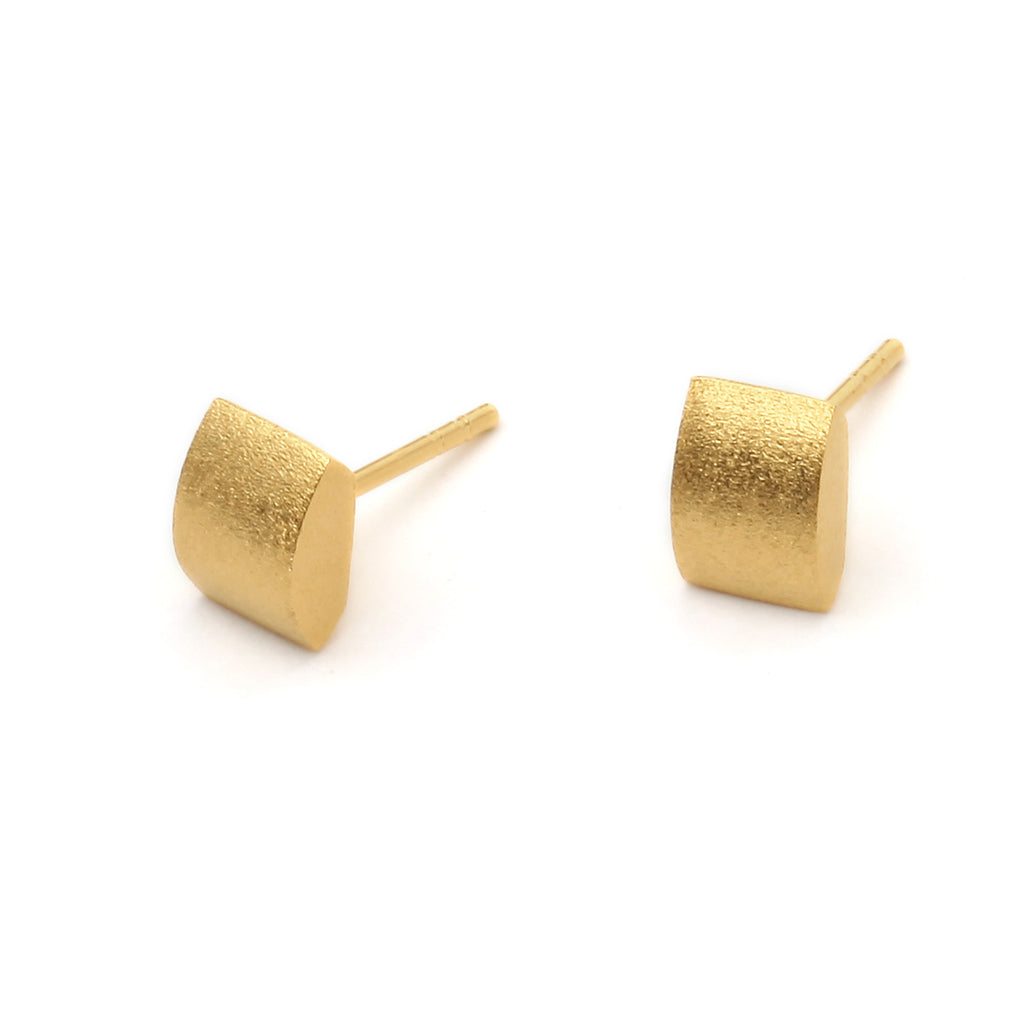 "Bernd Wolf Collection ""Navette"" Stud Earrings"