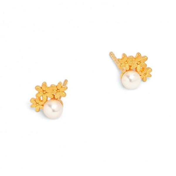 "Bernd Wolf Collection ""Triflores"" Stud Earring"
