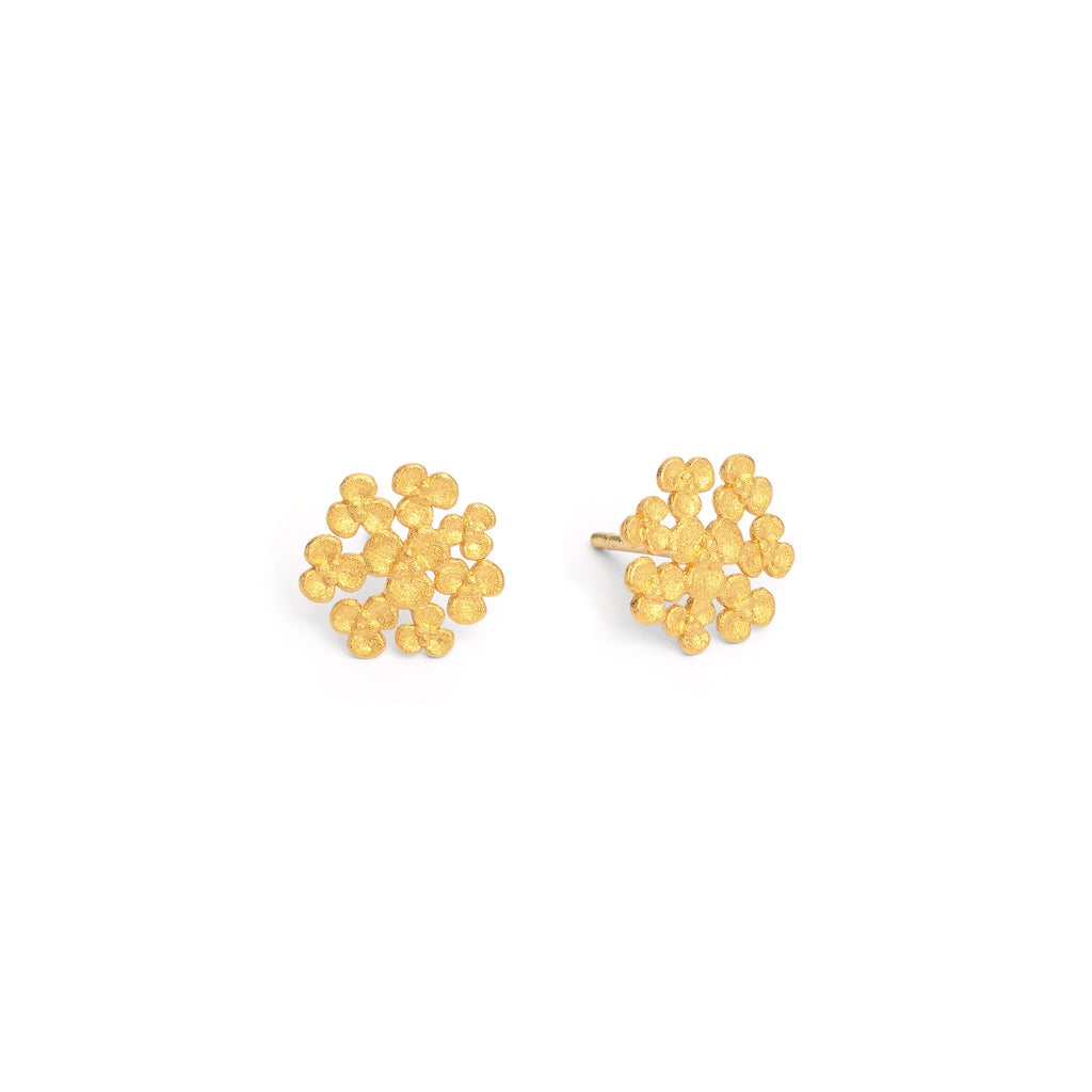 "Bernd Wolf Collection ""Lessia"" Flower Stud Earrings"