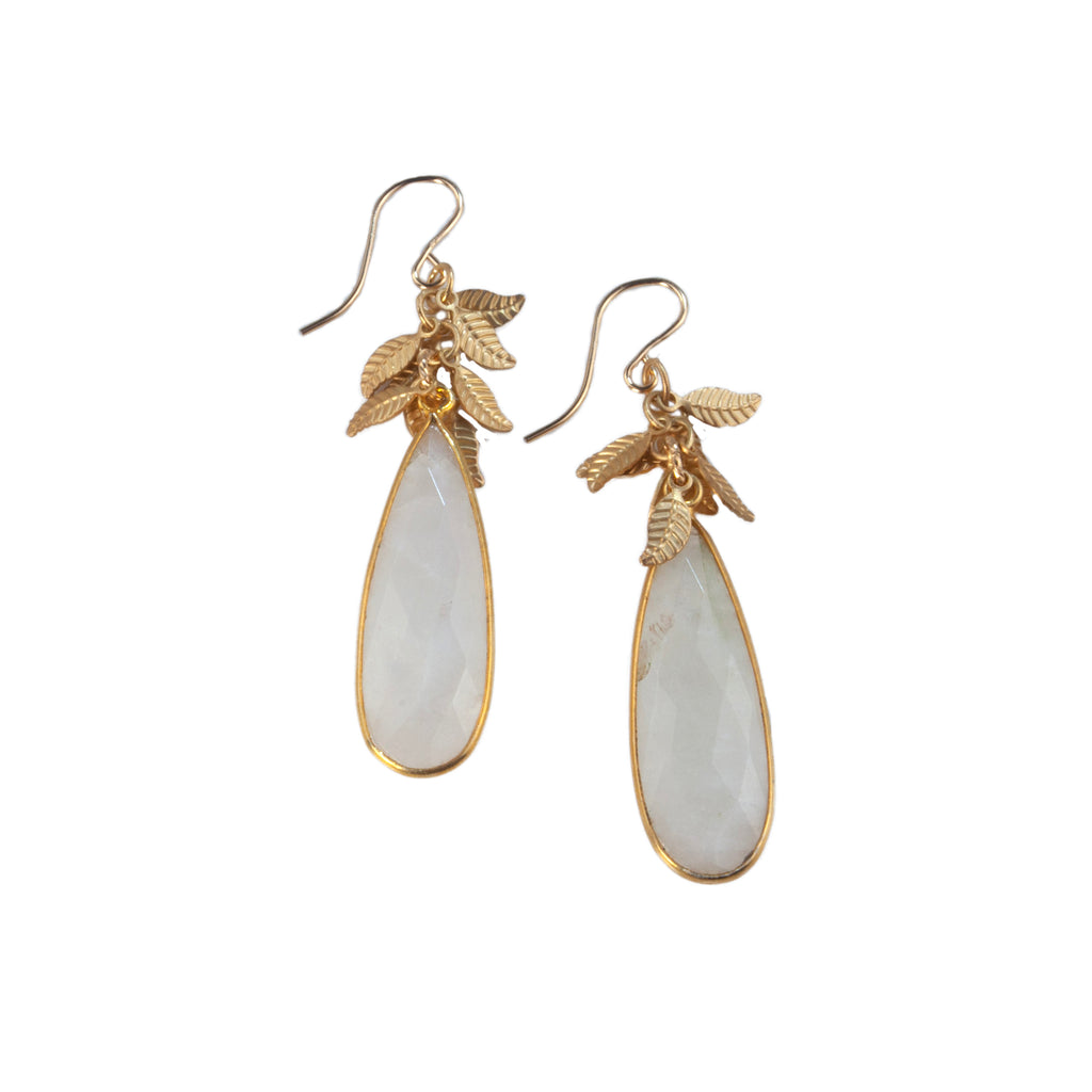 Anna Hollinger Collection Moonstone Earrings