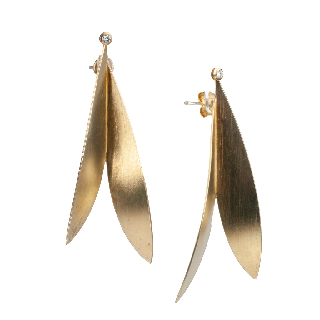 "Mysterium Collection Vermeil ""Summer Wings"" Earrings"