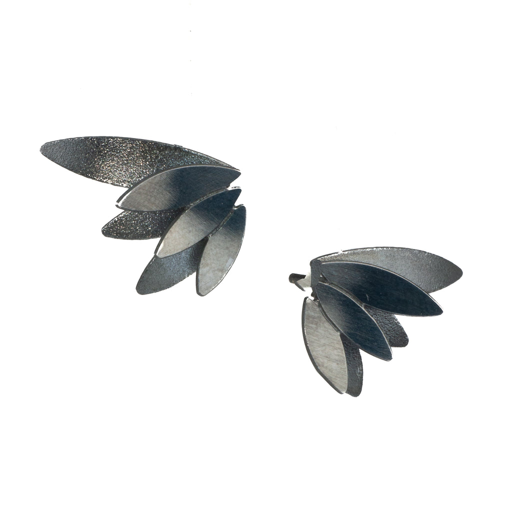 "Mysterium Collection Double ""Angel Wings"" Earrings (Sml)"