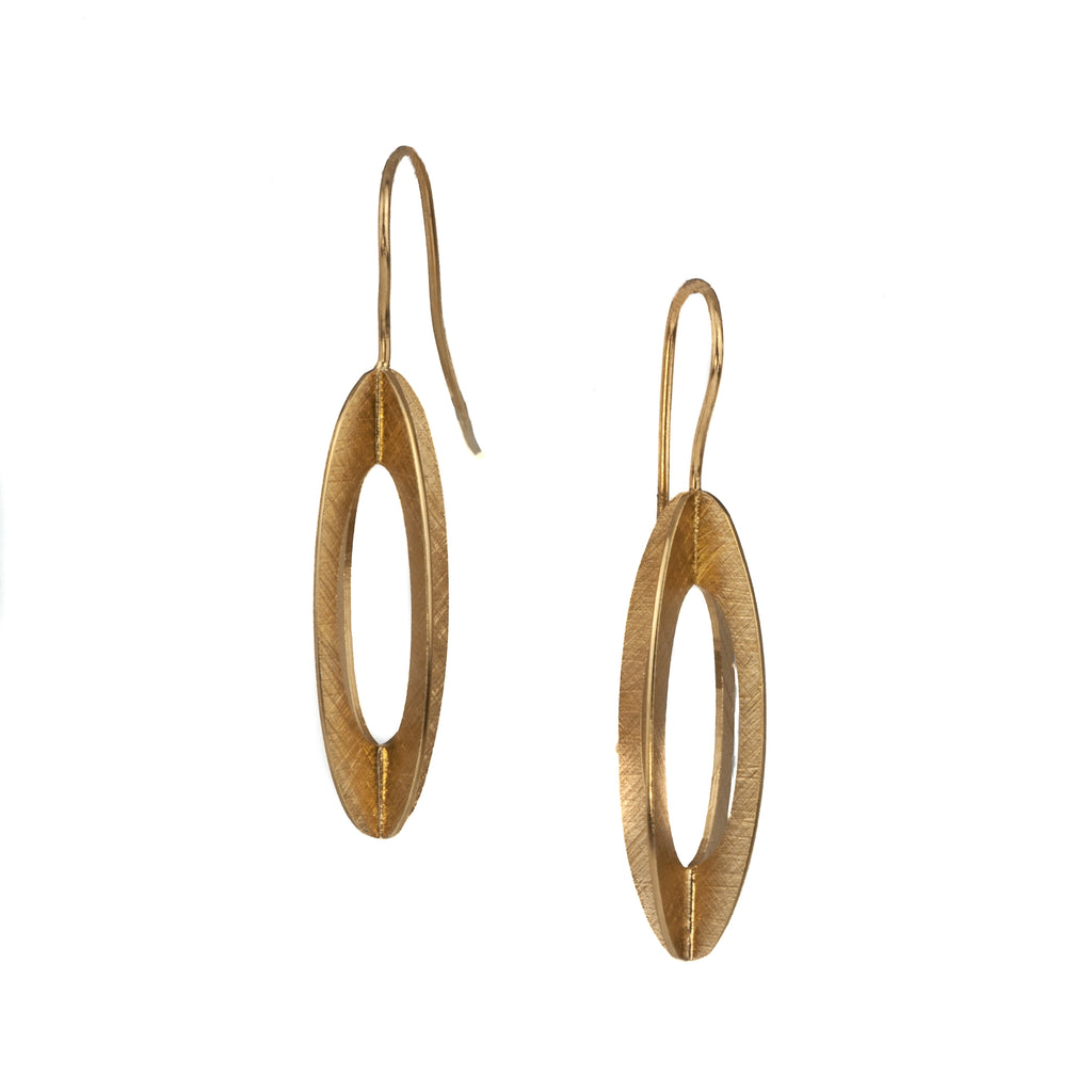 "Mysterium Collection Vermeil ""4-Side Marquise"" Earrings"