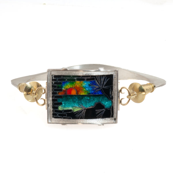 "James Carter ""Beach Sunset"" Enamel Bracelet"