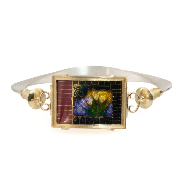 James Carter New Orleans Theme Enamel Bracelet