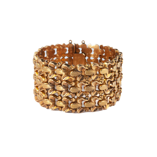 Estate Collection 18K Retro Bracelet