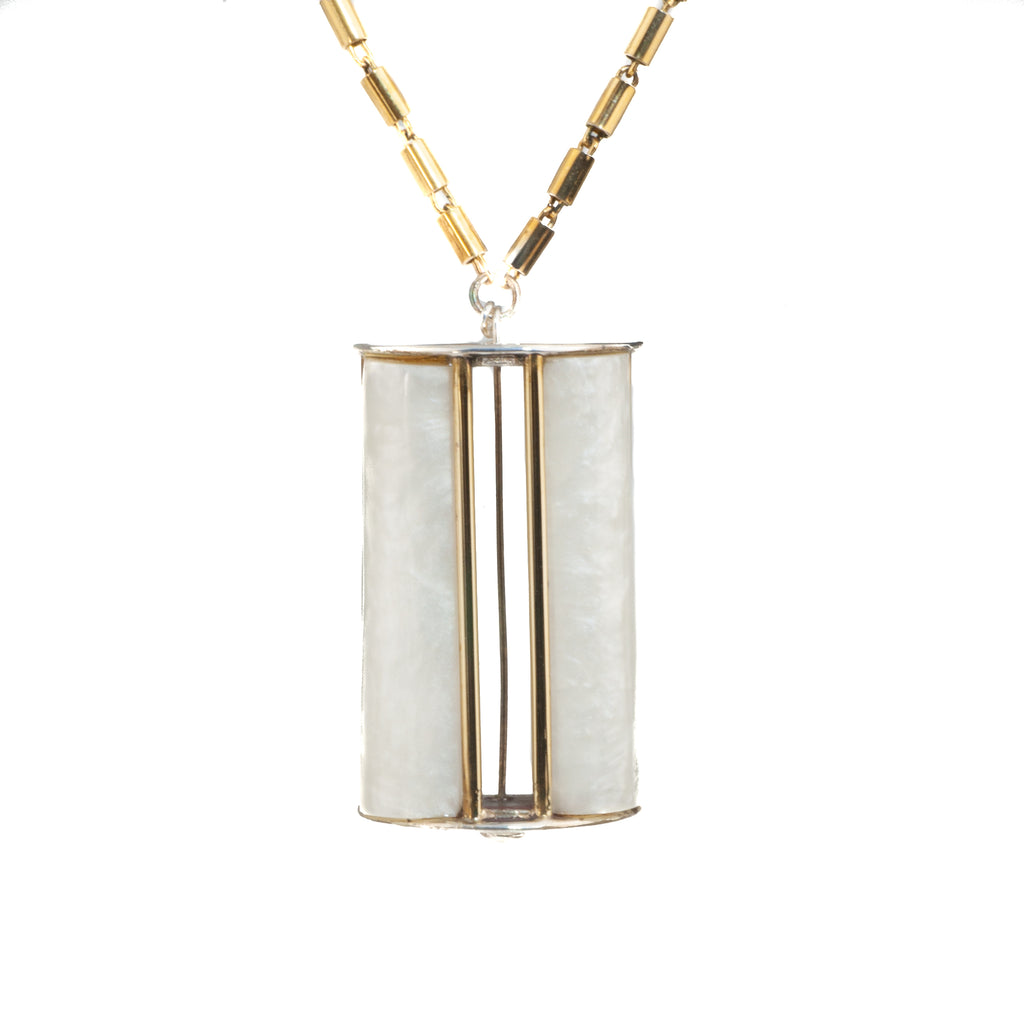 "Tim Nelson Designs ""Geo Frosted"" Necklace"