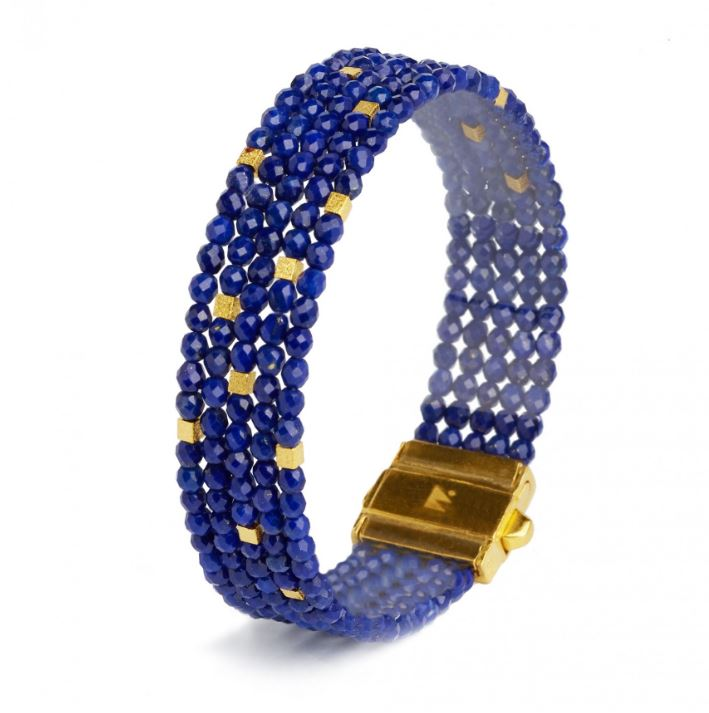 "Bernd Wolf Collection ""Orfi"" Lapis Bracelet"