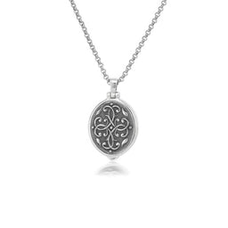 Anatoli Collection Sterling Silver Locket