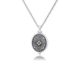 Anatoli Collection Sterling Silver & 18K Locket